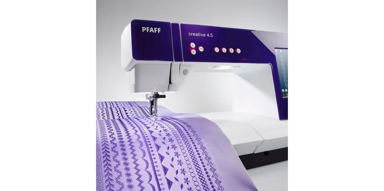 Fioletowa elegancja – piękno i funkcjonalność - PFAFF Creative 4.5